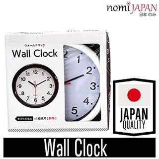 Nomi Japan Monotone Wall Clock