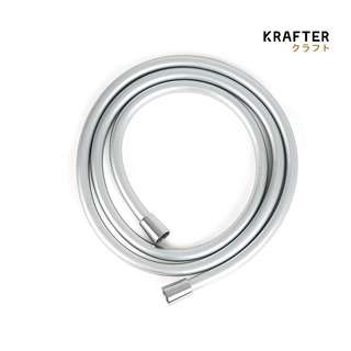 KRAFTER 360 Tangled Free - Shower Hose Tube - Silver