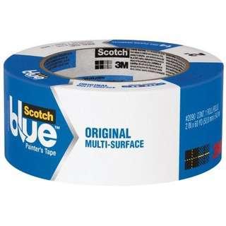 3M Scotch Blue ORIGINAL Painters Tape 48MM