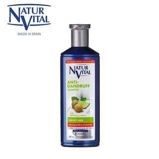 Naturvital Anti-Dandruff Shampoo-Greasy Hair
