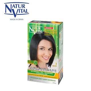 Naturvital ColourSafe Permanent Dye No.1 Black