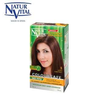 Naturvital ColourSafe Permanent Dye No.5 Light Chestnut