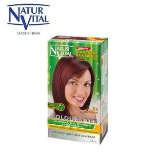 Naturvital ColourSafe Permanent Dye No.5.5 Mahogany