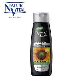 Naturvital Colour Hair Mask Black