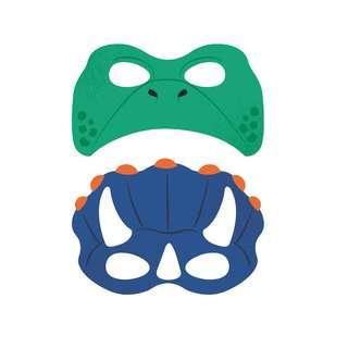 IG Design Group Party Mask - Dinosaur