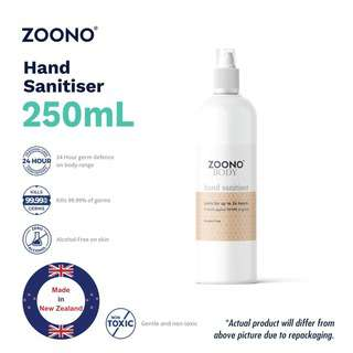 ZOONO 24hrs Protection Hand Sanitiser - 250ml