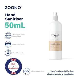 ZOONO 24hrs Protection Hand Sanitiser - 50ml