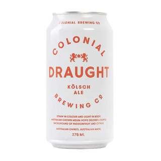 Colonial Draught Kolsch Golden Ale (Craft Beer)