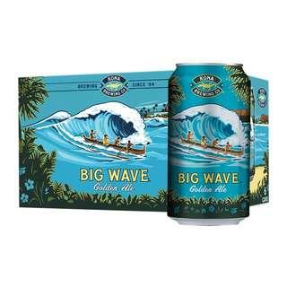 Kona Big Wave Hawaiian Golden Ale (Craft Beer)
