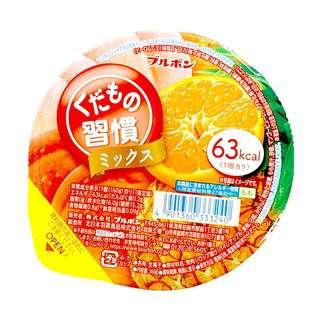 BOURBON Kudamono Shukan Mix Fruit Cup Jelly