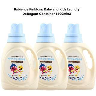 Babience Pinkfong Baby and Kids Laundry Detergent Container