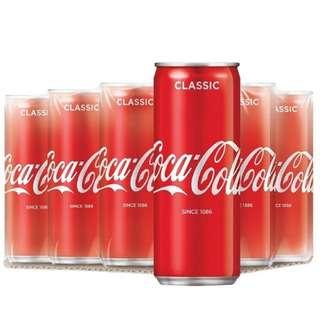Coca Cola Coke Classic 320ml x 24 Cans