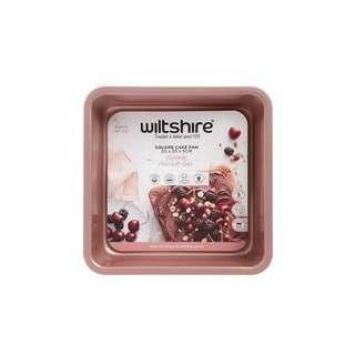 Wiltshire Rose Gold Square Cake Pan 20cm