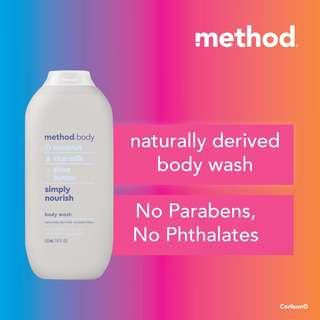 Method Body Wash, Simply Nourish