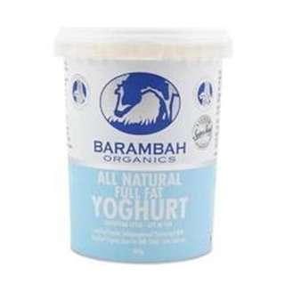 Barambah Organics All Natural Yoghurt