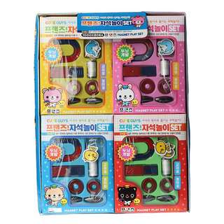 Play N Learn Science Educational Toy Mini Magnet Set