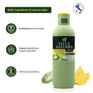 Felce Azzurra Bio Body Wash - Aloe Vera & Lemon