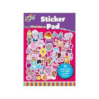 Galt Sticker Pads (Girl Club)