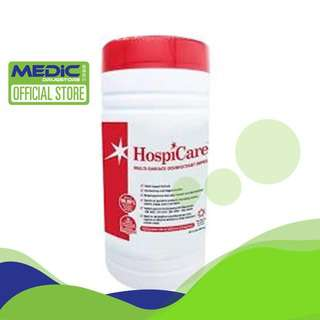 Hospicare Multi-Surface Disinfectant Wipes 150s