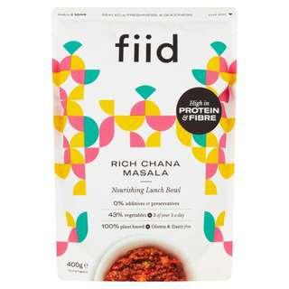 FIID Rich Chana Masala - Vegan