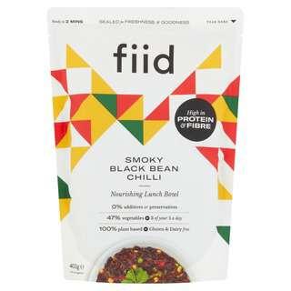 FIID Smoky Black Bean Chilli - Vegan