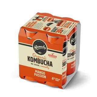 Remedy Kombucha Multipack Mango Passion