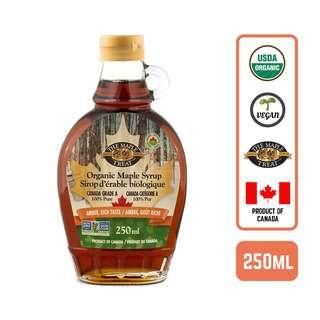 L.B Maple Treat Organic Maple Syrup Amber Rich Canada 250ml
