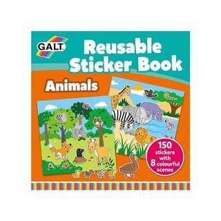 Galt Reusable Sticker Books (Animals)