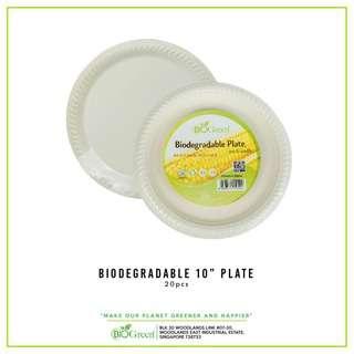 """BIOGREEN BD-10"""" Plate 20's"""