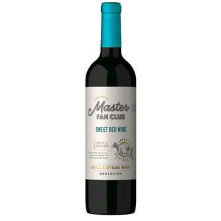 The Grill Master Fan Club Sweet Red Wine, 12.0%,