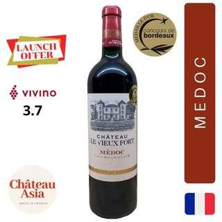 Chateau Le Vieux Fort Bordeaux Medoc Cru Bourgeois - red
