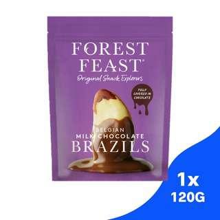Forest Feast Belgian Milk Chocolate Brazil Nuts
