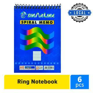 Sinar SP03512 Top Ring Note Book A6