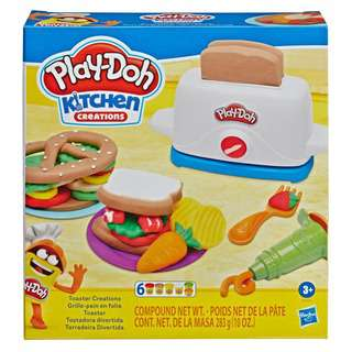 Play-Doh Toaster Creations Arts/Crafts Brown