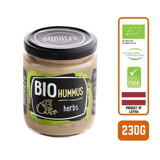 Rudolfs Organic Hummus with Herbs