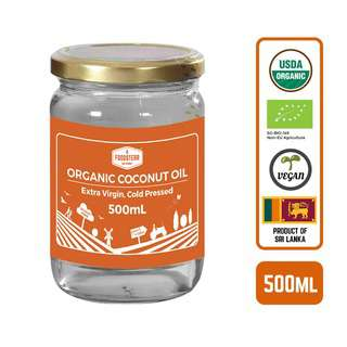 Foodsterr Organic Coconut Oil - Virgin Cold Pressed