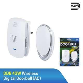 Daiyo Wireless Door Bell, No BatteryRequired