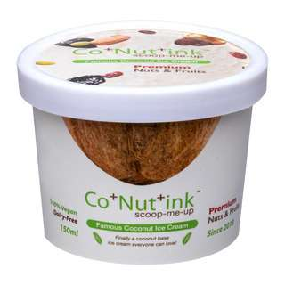 Co+Nut+Ink Coconut Ice Cream Premium Nuts & Fruits