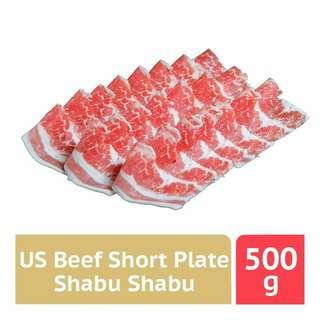 Tasty Food Affair US Beef Short Plate Shabu Shabu