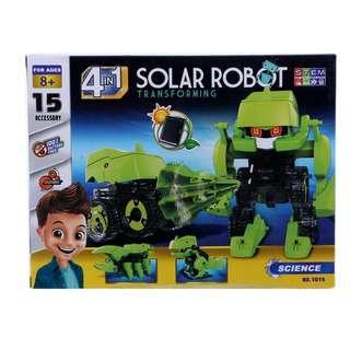 Querios Toys Science - 4 in 1 Solar Robot Transforming