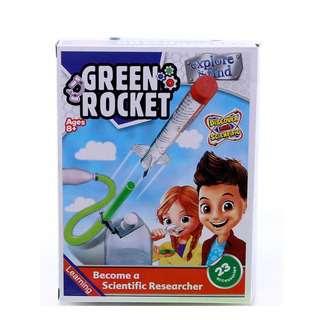 Querios Toys Science - Green Rocket