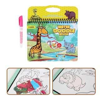 Querios Toys Water Doodle Book - Safari