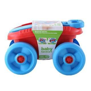 Querios Toys Baby Hand Cart 32PCS