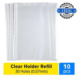 ALFAX RCP3017 Clear Holder Refill 30-Hole 0.07mm