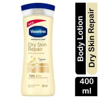 Vaseline INTENSIVE CARE Dry Skin Repair OAT Extract Lotion