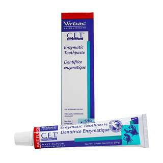 Virbac C.E.T. Enzymatic Toothpaste Malt for Cats and Dogs