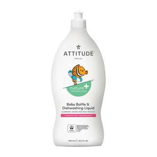 Attitude Baby Bottle & Dishwashing Liquid - Fragrance Free