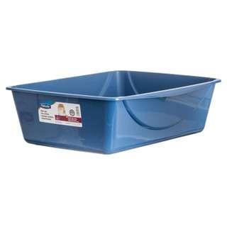 Petmate Basic Litter Box Jumbo Blue