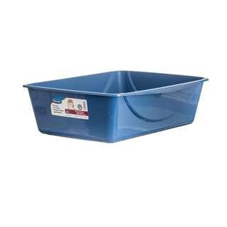 Petmate Basic Litter Box Medium Blue