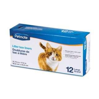 Petmate Cat Litter Pan Liners Large